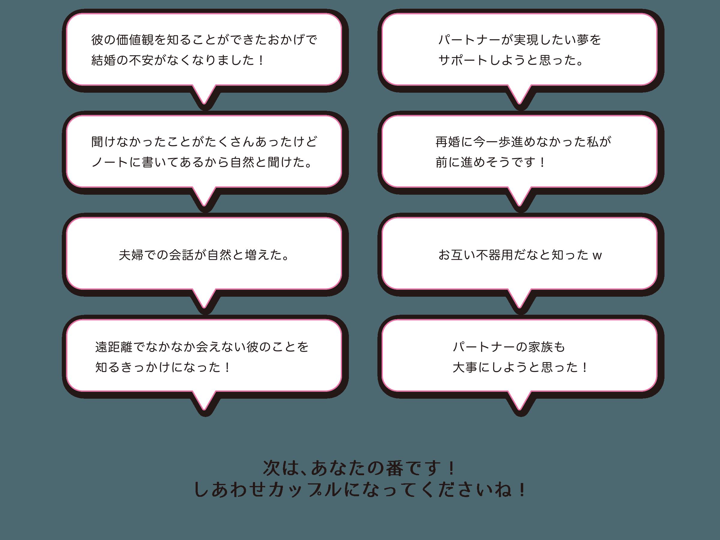 お互い カップル 質問