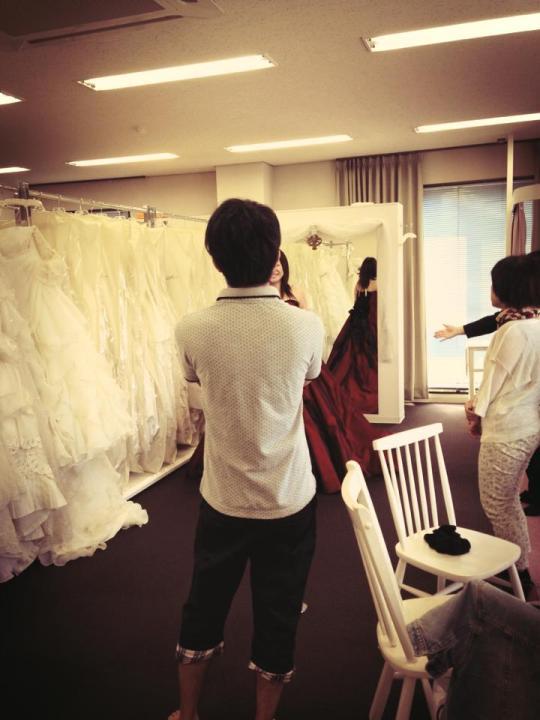 ドレス選び